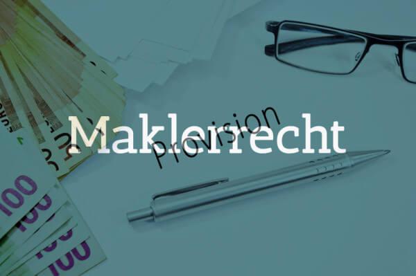 Löffler & Porstmann Rechtsanwalt Kanzlei Erlangen Maklerrecht
