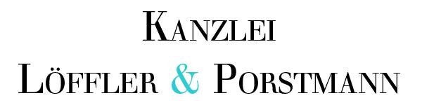 Kanzlei Löffler & Porstmann Logo